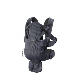 Babybjorn - porte-bebe move anthracite 3d mesh