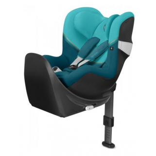Cybex - gold siege gr0+1 sirona m2 i-size + base m river blue/turquoise