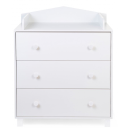 Childhome - beach cabin blanc commode 3 tiroirs