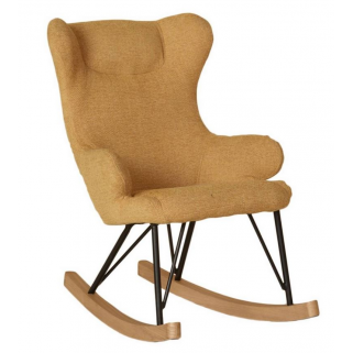 Quax - rocking kids chair de luxe - saffran