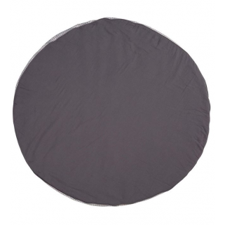 Lassig – coussin seat and play tapis muslin anthracite