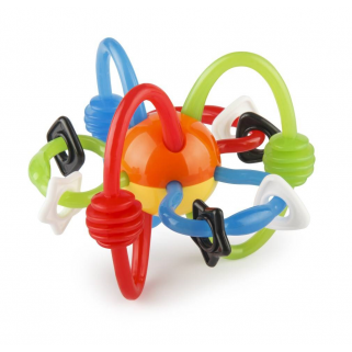 B-kids - hochet rattle & teether bendy tubes