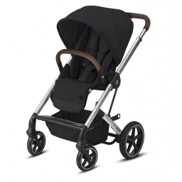Poussette Cybex Balios S Luxe (Chassis argent - silver)