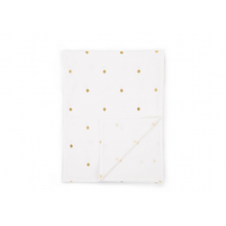 Drap 80x60 jersey gold dots Childhome
