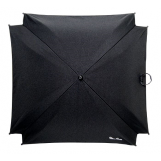 Silver cross - parasol black