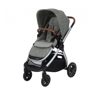 Maxi cosi - poussette travel system adorra nomad grey chassis silver