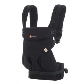 Ergobaby - porte bebe 360 sunrise pure black