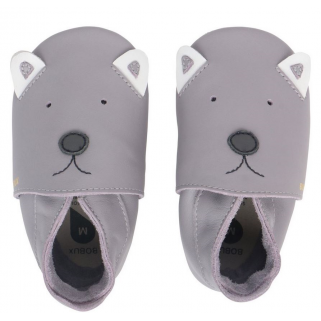 Bobux soft soles - gull grey woof m