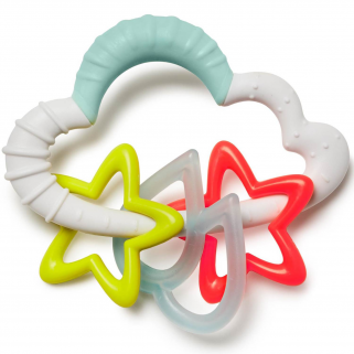 Skip hop - silver lining nuage starry rattle