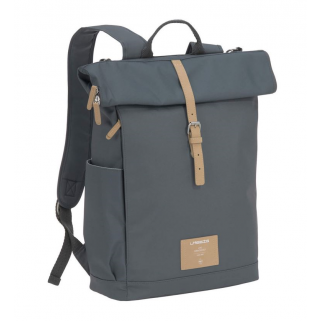 Lassig – sac a dos green label rolltop backpack anthracite