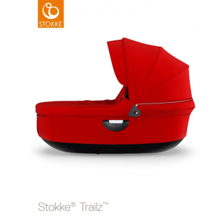Stokke - trailz nacelle rouge (capote-visiere)