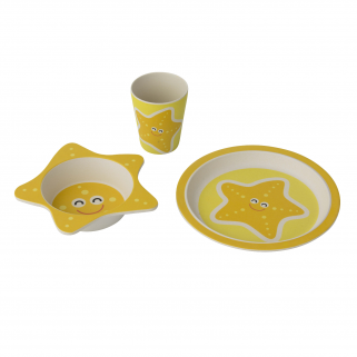 LIMITED - PERICLES - COFFRET REPAS BAMBOO SEA STAR