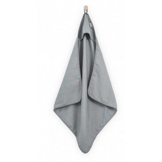 Limited - jollein -  mini dots mist grey cape de bain  tetra 75x75cm