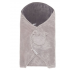 Noukies - mix and match couverture promenade gris clair/gris fonce