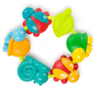 Bright starts - buggie bites teether classic anneau de dentition