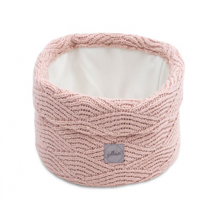Jollein - river knit panier rose pale