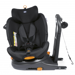 Chicco - siege-auto gr0/1 around u i-size jet black