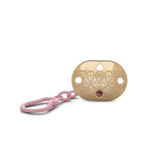 LIMITED - Suavinex - couture attache-sucette rose