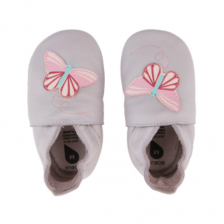 Bobux - soft soles - butterfly lilac - s