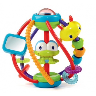 Bright starts - jouets activites clack and slide activity ball