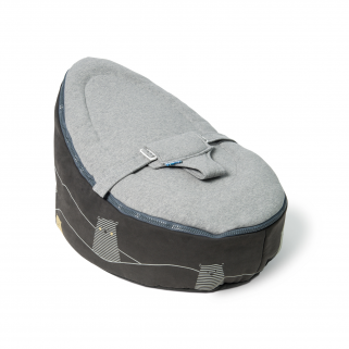 Doomoo - seat pouf evolutif bear grey
