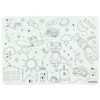 Noukies - monstres placemat/set de table superhero