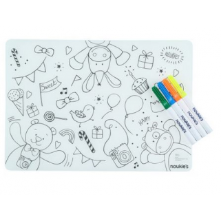 Noukies - monstres placemat/set de table anniversaire