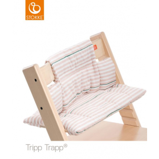 Limited - stokke - coussin tripp trapp rayures roses