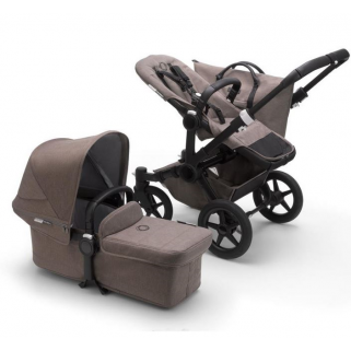 Bugaboo - donkey3 mineral mono complete noir/taupe