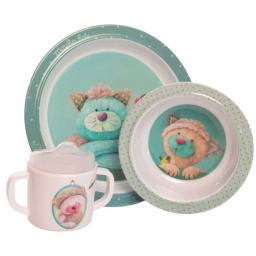 Limited - moulin roty - les pachats coffret repas melamine