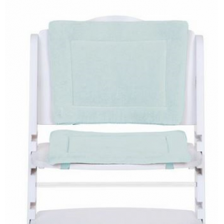 Limited - childwood - coussin de chaise evolutive tricot pastel mint blue