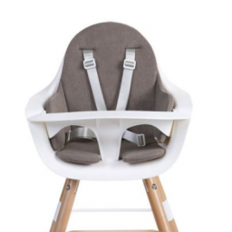 Limited - childhome - evolu coussin de chaise terry pastel warm grey