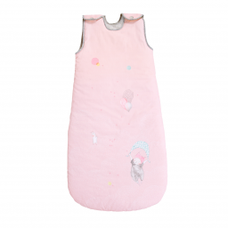 Limited - moulin roty - les petits dodos sac nid 90cm rose