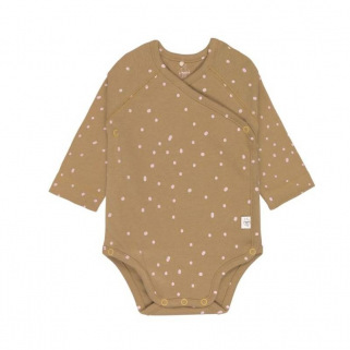 Cozy colors - body manches longues gots - Dots curry