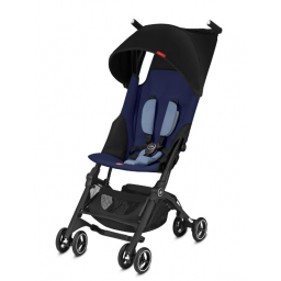 Limited - goodbaby - poussette pockit+ sapphire blue/navy blue