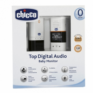 Limited - chicco - babyphone audio digital top new generation récupel inclus