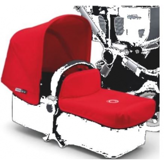 Limited - bugaboo - donkey new habillage compl rouge (2)