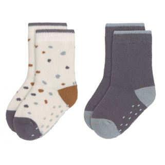 Lot de 2 paires de chaussettes anti-dérapante - Lassig -  sheep blue