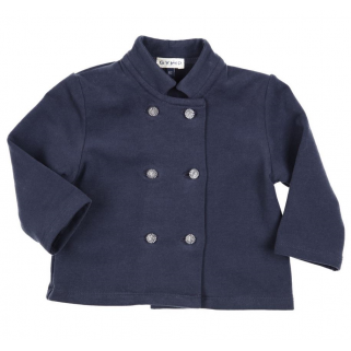 Limited - Cardigan officer collar - Gymp h 19 - marine - 62 (3 mois)