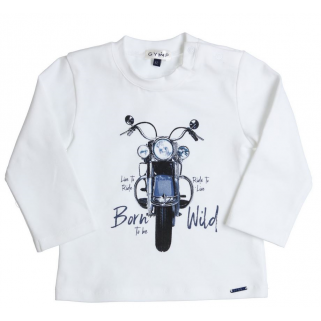 Limited - Longsleeve motor aerodoux - Gymp h 19 - blanc - 62 (3 mois)