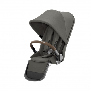 Seconde assise Cybex Gazelle s soho grey pour chassis taupe