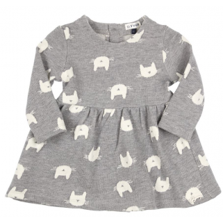 Limited - Robe cats prem girls - Gymp h 19 –  gris/off-white t 68