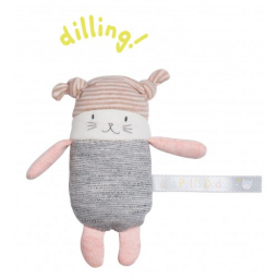 Limited -  les petits dodos hochet petit chat moon - Moulin roty