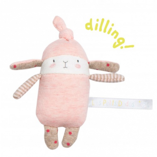 Limited -  les petits dodos hochet petit lapin rose lulu - Moulin roty