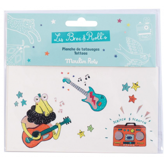Limited - les broc'n rolls tatouages musique - Moulin roty