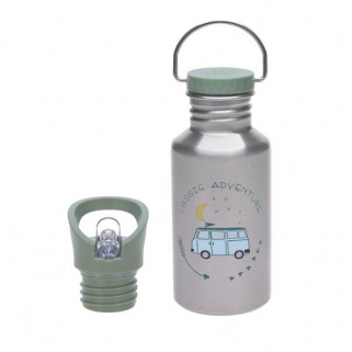 Gourde inox Lassig adventure - ORIGINAL - Bus