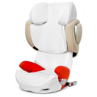 Limited - cybex - platinum solution q3 housse ÉtÉ white / white