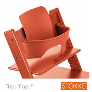 Limited - stokke - babyset tripp trapp lava orange