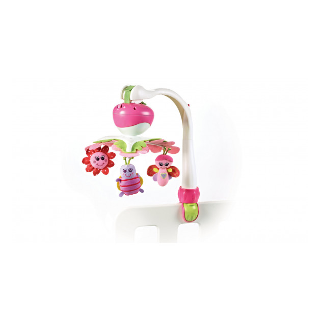 Limited - tiny love - take along mobile pink recupel et bebat inclus
