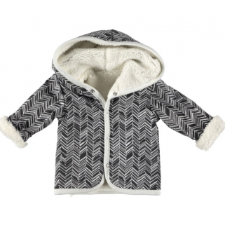 Limited - bess 19h - cardigan blanc reversible  t 68